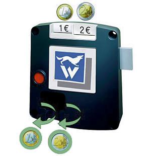 Safe-o-mat coin locks kit / Bitcoin faucet 5 menit