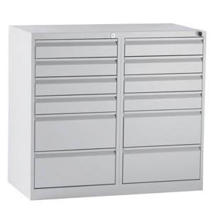 armoire tiroirs en acier m1080612 frankel france. Black Bedroom Furniture Sets. Home Design Ideas