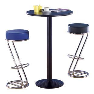 tabouret de bar forme z. Black Bedroom Furniture Sets. Home Design Ideas
