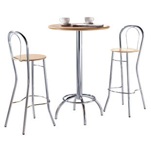 Tabouret de bar avec dossier m56400 gaerner france for Table bar avec tabouret