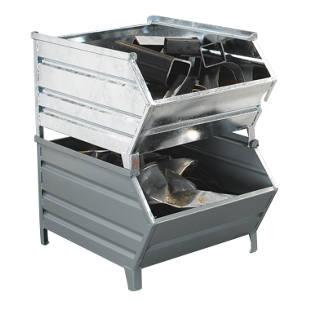 caisse palette en t le d 39 acier avec trappe d 39 acc s m3200 frankel france. Black Bedroom Furniture Sets. Home Design Ideas