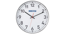 Reloj de pared, Ø 300 mm
