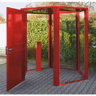 Porte pour abri hexagonal m60303 frankel france for Porte abri exterieur