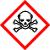 Muy tóxico  Si se aspiran, ingieren o la piel entra en contacto con ellas, aunque sea en mínimas cantidades, pueden provocar lesiones agudas o crónicas graves o incluso la muerte.