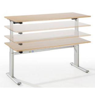 upliner bureau sur pieds hauteur r glable lectriquement m72943 frankel france. Black Bedroom Furniture Sets. Home Design Ideas