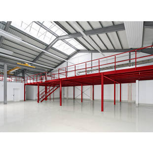 Mezzanine floor m60313 kaiser kraft great britain for Steel mezzanine design