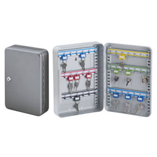 Caja para llaves de chapa de acero m1080126 kaiser kraft for Caja madrid particulares oficina internet