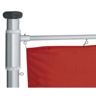 Flag pole made of anodised aluminium M KAISER KRAFT