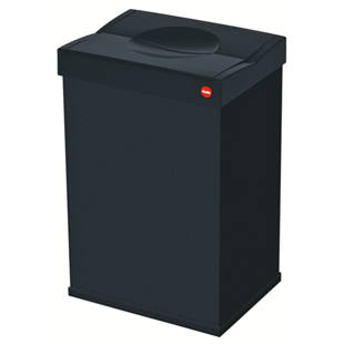 poubelle avec couvercle fermeture automatique m61110. Black Bedroom Furniture Sets. Home Design Ideas