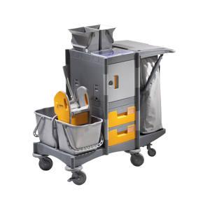 Sanit Rbedarf M Nchen kunststoff reinigungswagen m1137359 kaiser kraft schweiz