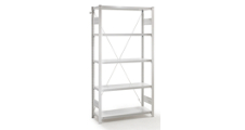 AntiBak® boltless shelving unit, anti-bacterial