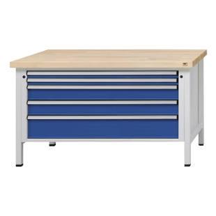 werkbank mit xl xxl schubladen m1000354 kaiser kraft deutschland. Black Bedroom Furniture Sets. Home Design Ideas