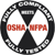 Occupational Safety&Health Agency. National Fire Protection Agency, сертификат контроля США.
