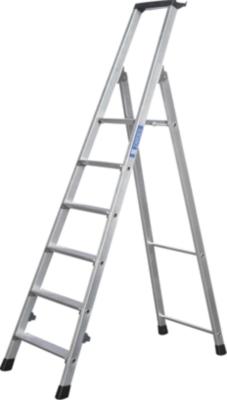 ZARGES Stufenleiter klappbar, einseitig begehbar