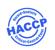 Europäischer Hygienestandard. Gesundheitsschutz durch einwandfreie Lebensmittelhygiene. Vermeidung von Kontaminierungen durch unhygienische Produkte bzw. Handhabungen. Produkte mit dem HACCP-Logo entsprechen dem europäischen Hygienestandard.
