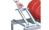 Roller supports for drum stand