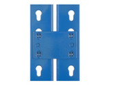 Tie plates for racking with 800 kg maximum load