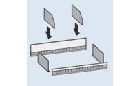 Shelf partition