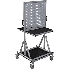 Aluminium profile tool trolley