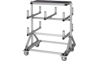 SUPPORT KING cantilever trolley made of aluminium profile