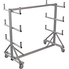 SUPPORT cantilever trolley made of aluminium profile