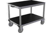 Workshop trolley made of aluminium profile