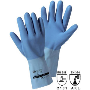 Handschuhe BLUE-LATEX