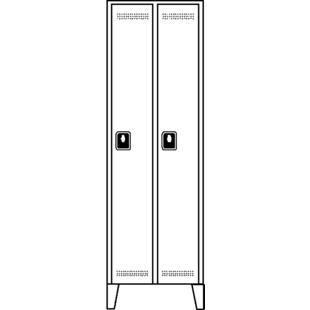 Armario guardarropa altura de compartimento 1700 mm for Altura de armario