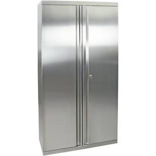 armoire porte battante en inox m2954908 frankel france. Black Bedroom Furniture Sets. Home Design Ideas