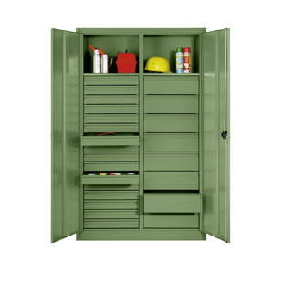 armoire d 39 atelier en t le d 39 acier m75869 frankel france. Black Bedroom Furniture Sets. Home Design Ideas