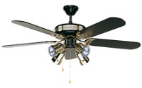 Ventilatore a soffitto BLACK MAGIC