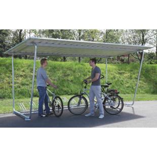 fahrradst nder zu flachdach berdachung m4856 kaiser. Black Bedroom Furniture Sets. Home Design Ideas