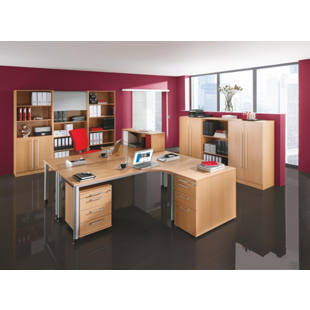 flexiba schreibtisch r ckwand m13759 gaerner deutschland. Black Bedroom Furniture Sets. Home Design Ideas