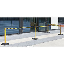 Tape barrier post, pack of 2