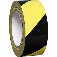 Floor marking tape made of vinyl, two-colour