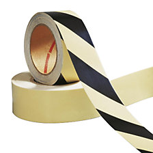 Hazard warning tape, self adhesive