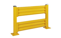 Crash protection wall, height 1090 mm