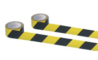 Self-adhesive warning and marking tape