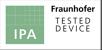 IPA. Símbolo do Instituto Fraunhofer para Engenharia da Produção e Automação.