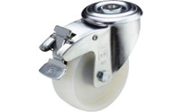 Nylon wheel with bolt hole