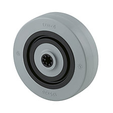 Nylon wheel, grey