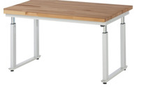 Workstation, height adjustable