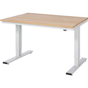 Poste de travail r glable en hauteur m1255962 kaiser kraft belgique - Table de travail reglable en hauteur ...
