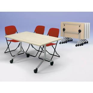table pliante roulante m60922 gaerner france. Black Bedroom Furniture Sets. Home Design Ideas