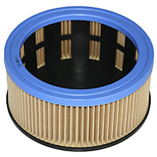 Concertina filter cartridge