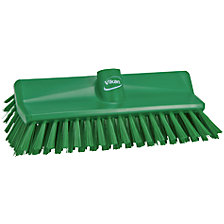 High-low brush/corner scrubbing brush