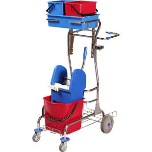 Cleaning and service trolley