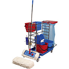 wide wipe mop set