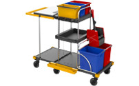 EQUIPE cleaning trolley