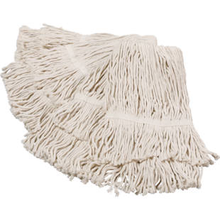 Floor mop with strap